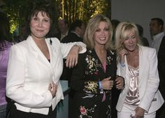 Michele Lee Donna Mills Photos - Actress Michele Lee, Donna Mills and Joan Van Ark attend the 'CBS Stars Party' at the Hammer Museum on July 19, 2005, Los Angeles, California. - CBS Stars Party - Inside
