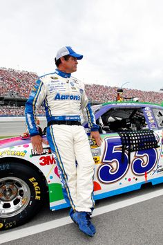 Michael Waltrip--and who doesn't love Mikey?