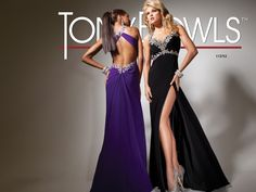 Tony Bowls Paris  »  Style No. 113752  »  Tony Bowls Prom available at Binns of Williamsburg