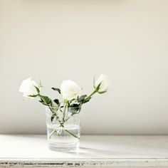 Wedding Ideas: simple-white-wedding-centerpiece