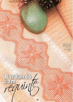Fernanda em Fios: PONTO CRIVO