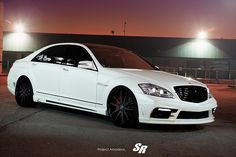 Tuner #Combo Produces An #Aggressive #Mercedes S-Class http://www.benzinsider.com/2012/11/tuner-combo-produces-an-aggressive-s-class/