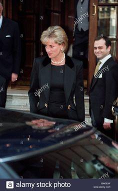 Princess Diana June 1997 At the Ritz Hotel London