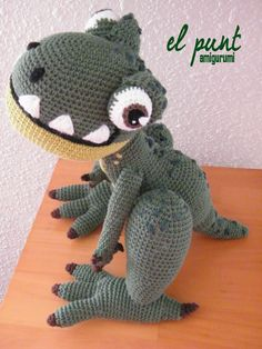 Crochet Patterns Free Doll Clothes : 1000+ images about Crochet Dinosaurs on Pinterest ...