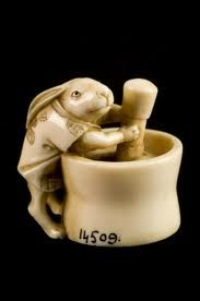 Rabbit Netsuke