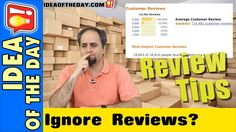 When to IGNORE Reviews. #ideaoftheday #vlog #amazon #tip