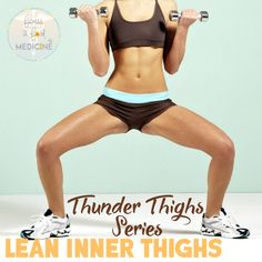 These are the best of all Inner and Outer Thigh Exercises to help you build shapely legs. They will activate your legs and your glutes and help lift it.