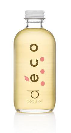 vanilla + rose body oil at deconaturals.com