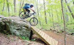 Boone's Rocky Knob Mountain Bike Park brings Bikes to Ski Country - gotta go