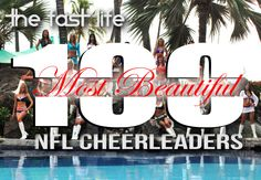The Fast Life presents its exclusively compiled 100 Most Beautiful NFL Cheerleaders for the 2012-2013 season as voted by TV media, celebrities, sportswriters, radio personalities, and Tech.Nition ProDj's Worldwide.  Enjoy the ladies of gridiron sidelines as they shine bright like a diamond!