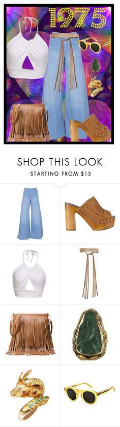 """""""Set #1768 - 1975 is the Year I was Born"""" by the-walking-doctor ❤ liked on Polyvore featuring Kenzo, Sigerson Morrison, ADA Collection, Vintage, Lalaounis and CÉLINE"""