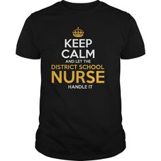 Awesome Tee For District School Nurse T-Shirts, Hoodies. GET IT ==► https://www.sunfrog.com/LifeStyle/Awesome-Tee-For-District-School-Nurse-130915832-Black-Guys.html?id=41382