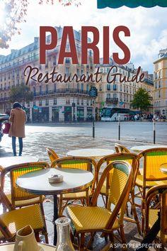 Finding the Best Restaurants in Paris on ASpicyPerspective.com #travel