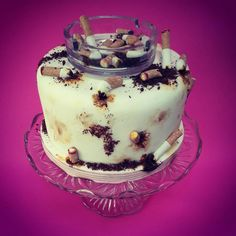Ashtray Cake Made with Realistic & Edible Cigarette Butts & Ashes