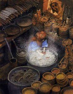 çizgili masallar: Igor Oleynikov, The Barefoot Princess
