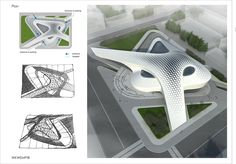 A shopping mall project on Behance Movement Architecture, Architecture Building Design, Architecture Panel, Concept Architecture, Amazing Architecture, Organic Architecture, Shopping Mall Architecture, Shopping Mall Interior, Shoping Mall