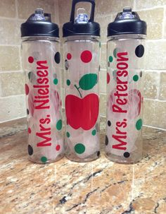 Hey, I found this really awesome Etsy listing at https://www.etsy.com/listing/169713933/personalized-water-bottle-teacher-gifts