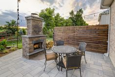 """Acquire fantastic pointers on """"outdoor fire pit ideas"""". They are accessible for you on our site. Paver Designs, Wood Burning Fire Pit, Patio Heater, Outdoor Kitchen Design, Delaware, Natural Stones, Relax, Backyard, Outdoor Fireplaces"""