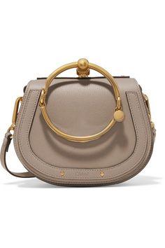 254dce1367ba1 Chloé - Nile Bracelet small textured-leather shoulder bag
