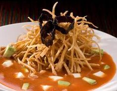 Recipes Tortilla Soup with Maseca® Mexican Cooking, Mexican Food Recipes, Ethnic Recipes, Thai Dishes, Mexican Dishes, Maseca, Thai Street Food, I Chef, Chili