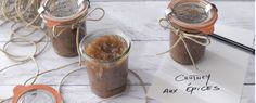 Qooking.ch | Chutney poires-figues
