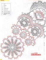 View album on Yandex. Free Crochet Doily Patterns, Crochet Circles, Crochet Motif, Crochet Shawl, Knit Crochet, Thread Crochet, Filet Crochet, Irish Crochet, Lace Doilies