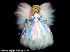 MÄRCHEN-FEE ELFE SEIDE PRINZESSIN Jahreszeitentisch HERZ WALDORF MÄRCHENWOLLE Felt Dolls, Needle Felting, Fairies, Granddaughters, Wool, Easter, Diy, Craft Kids, Elves