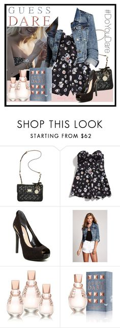 """Do You Dare with GUESS Dare: Contest Entry"" by boho-at-heart ❤ liked on Polyvore featuring GUESS and DoYouDare"