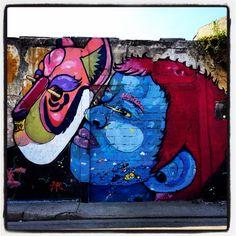 Streetart, Cartagena de Indias, Colombia