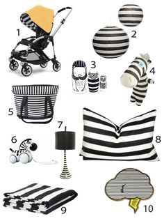 Black and White Stripes for Baby