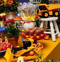 Resultado de imagem para festa infantil construção