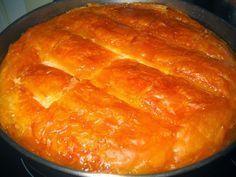 Καλύτερο γαλακτομπούρεκο δεν έχω δοκιμάσει! Αξίζει πολλά! Τραγανό το φύλλο ακόμα και μετά από μέρες στο ψυγείο! Το σιρόπι σε πολύ καλές αναλογίες! Τι χρειαζόμαστε: 1/2 κιλό φύλλο κρούστας Για την κρέμα: 1 φλιτζάνι ψιλό σιμιγδάλι 1 1/2 φλιτζάνι ζάχαρη 700 ml φρέσκο πλήρες γάλα 300 ml κρέμα γάλακτος 4 αβγά 3 …