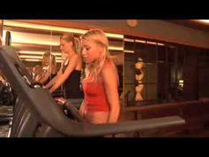 Dancing on the treadmill. (I know crazy but a hell-of-a-lot of fun!) Tracy Anderson Treadmill Routine with Molly Sims Part A  (Introduction and Warm Up)