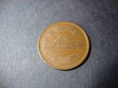 SALE  1972 Japan 10 Yen Coin  Ten Yen  Year 47  by CoinCorner
