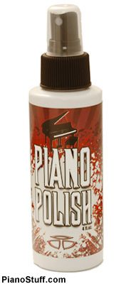 Piano Polish - Practical Piano Accessories make great gifts for piano / keyboard players