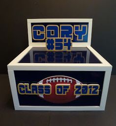 Musing with Marlyss: Graduation Centerpiece/Gift Card Box Ideas