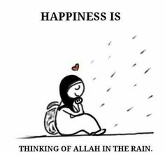 ❤The time of the rain is a time of mercy from Allah (SWT) so, one should take advantage of this time when Allah (SWT) is having mercy on His slaves. ❤Narrated Sahel Ibn Sa'ad (RA): that the Messenger of Allah (SAW) said: 'Two will not be rejected, Supplication when the Adhan (call of prayer) is being called, and at the time of the rain'. [Al-Hakim 2: 114, and Abu Dawud #2540, ibn Majah]. #MakingDuaWhileRaining