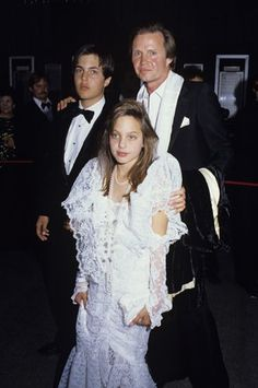 angelina jolie... people say her lips are fake... but she's had them big and pouty since she was a child