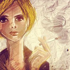 #cigarettes #instadrawing #sketch #brushes