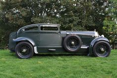 "1930 Bentley ""Blue Train""."
