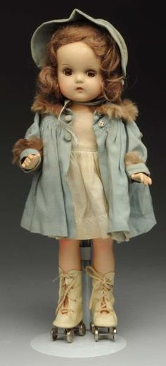 "Madame Alexander ""Jeannie Walker"" Doll."