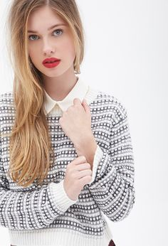 Textured Knit Sweater | FOREVER21 - 2000119127