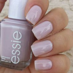 "Essie ""Hubby For Dessert"" - light purple #nail polish / lacquer /vernis from the bridal collection 2015. 3 coats"