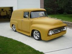 1956 ford f100 panel truck hot rod pictures - Hot Rod Cars hotrodautomotive.blogspot.com