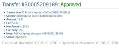 Here is my Withdrawal Proof from Ad ClickXpress. I get paid daily and I can withdraw daily. Online income is possible with ACX, who is definitely paying - no scam here. I WORK FROM HOME less than 10 minutes and I manage to cover my LOW SALARY INCOME. If you are a PASSIVE INCOME SEEKER, then Ad ClickXpress (Ad Click Xpress) is the best ONLINE OPPORTUNITY for you.