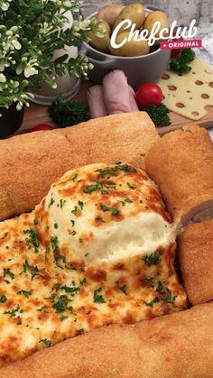 Tasty Videos, Food Videos, Fun Baking Recipes, Cooking Recipes, Easy Cooking, Easy Chicken Dinner Recipes, Cheesy Recipes, Creative Food, Diy Food