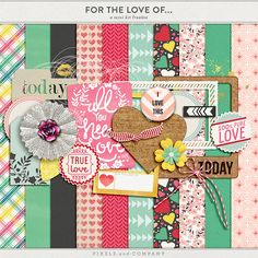 Tuesday's Guest Freebies ~ Pixels and Company  ✿ Follow the Free Digital Scrapbook board for daily freebies: https://www.pinterest.com/sherylcsjohnson/free-digital-scrapbook/ ✿ Visit GrannyEnchanted.Com for thousands of digital scrapbook freebies. ✿