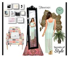"""""""Lace Maxi Dress"""" by ellyandeddy-mendo ❤ liked on Polyvore featuring Dolce&Gabbana and fiercefinds"""
