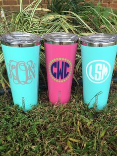 Personalized triple insulated Corkcicle 24 oz by brandiwalk