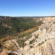 Rincones de España que enamoran! El Cañón del Río Lobos en Soria.